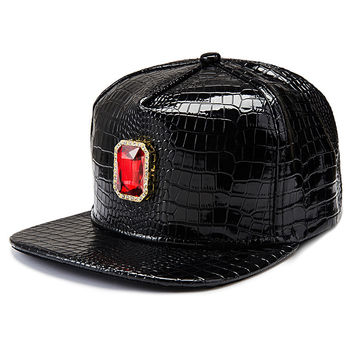 Fashion Gemstone Hip-hop Style Black Hats [6540890755]