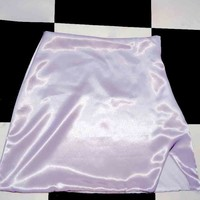 SWEET LORD O'MIGHTY! SILK KITTEN SKIRT IN GREY