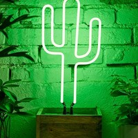 Neon Mfg. Cactus Table Lamp