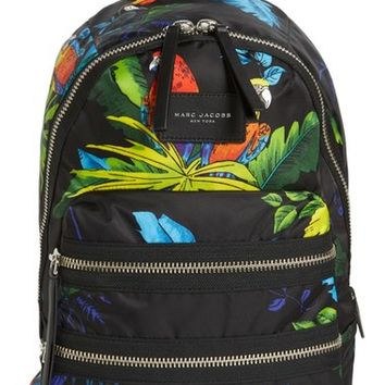 MARC JACOBS Biker Parrot Print Backpack | Nordstrom