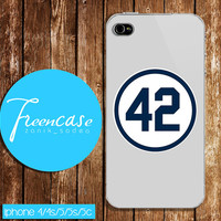 la dodgers 42, baseball case for iphone 4/4s case, iphone 5 case, iphone 5s case, iphone 5c case, galaxy s3, galaxy s4