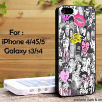 5 second of summer collage art newfor iPhone 4, iPhone 4s, iPhone 5, Samsung Galaxy S 3, Samsung Galaxy S 4 Case