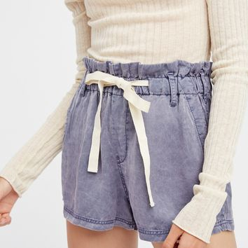 Free People High Waisted Wash Short