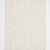 Jacquard-weave Cotton Rug - Beige/white - Home All | H&M US