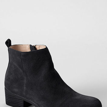 Women's Ellis Suede Ankle Boots from Lands' End