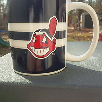 MLB Cleveland Indians Big Logo Mug, 11 oz., Red