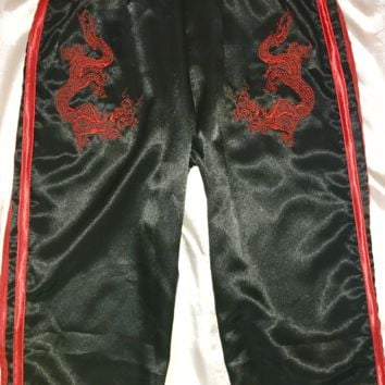 SWEET LORD O'MIGHTY! OG DRAGON TRACKIEZ IN BLACK SATIN