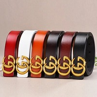 GUCCI simple wild decorative casual elegant wide belt