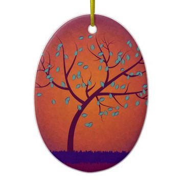 Tree of Life Ceramic Ornament