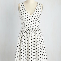 Speck for Yourself Dress in White