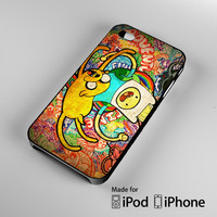 adventure time cover iPhone 4 4S 5 5S 5C 6, iPod Touch 4 5 Cases