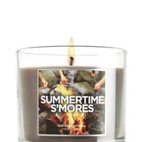 Summertime S'mores 4 oz. Small Candle   - Slatkin & Co. - Bath & Body Works