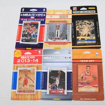 ROCKETS615TS NBA Houston Rockets 6 Different Licensed Trading Card Team Sets