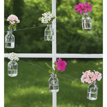 Bottle Flower Bud Vase Garland - VivaTerra