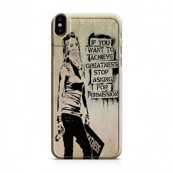 Banksy Art 1 iPhone X case