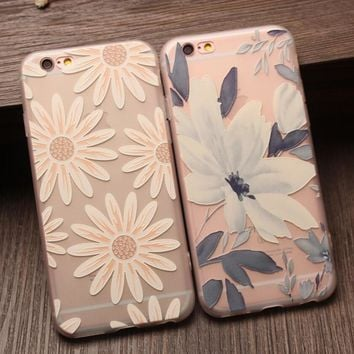 chrysanthemum floral iphone 7 7 plus iphone 6 6s plus iphone 5s se case personal tailor cover gift box 475 2
