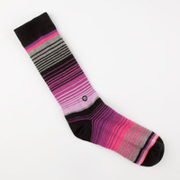 Stance Mexicali Womens Mix & Match Crew Socks Plum One Size For Women 25252675401