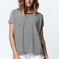 Volcom Lived In Stripe T-Shirt - Womens Tee