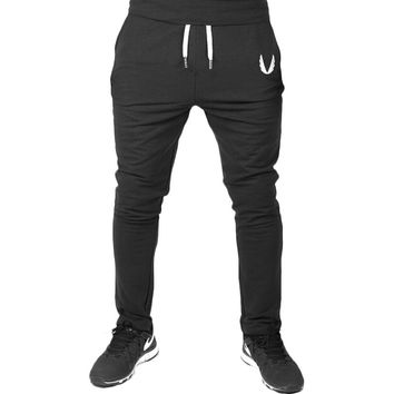 Men Golds Gym Pants Casual Mens Tracksuit Sports Bottoms Cotton Fitness Workout Skinny Joggers Running Sweat Pants Outdoor New
