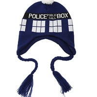 Doctor Who TARDIS Peruvian Beanie | Hot Topic