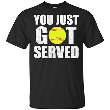 You Just Got Served Gifts For Softball Lovers