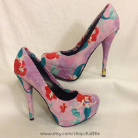 The Little Mermaid Disney Princess Heels