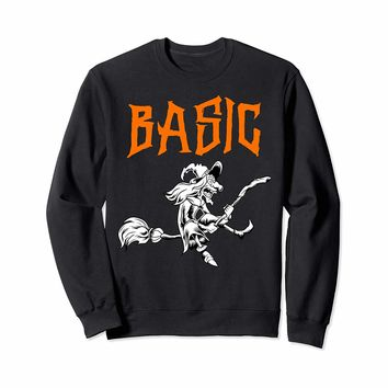 Basic Witch Sweatshirt Halloween | Halloween Witch Costume