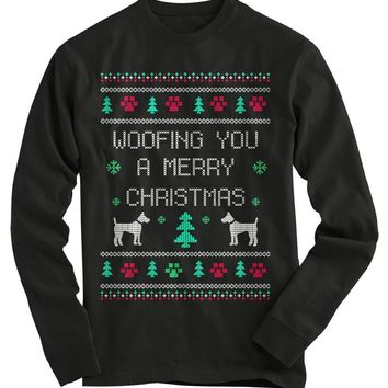 Woofing You A Merry Christmas Ugly Christmas Sweater