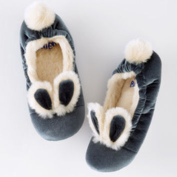 Image result for bunny velvet slippers