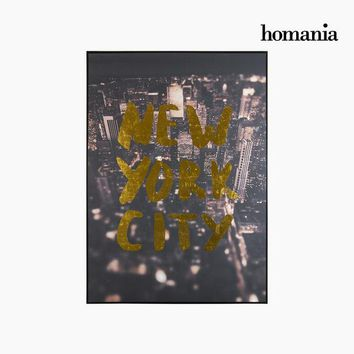 New york city painting on canv by Homania