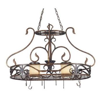 Kenroy Verona 2 Light Pot Rack