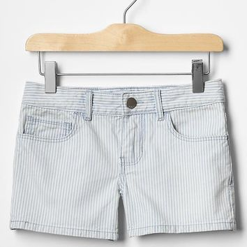 1969 Railroad Stripe Denim Shortie