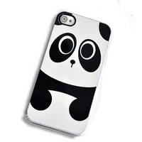 Baby Panda Bear IPhone Hard Case, Fits IPhone 4 And IPhone 4S - White Trim | Luulla