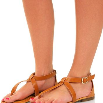 Love To Be Loved Sandals: Camel