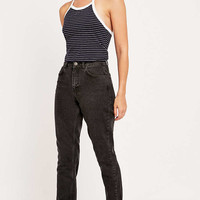 BDG Black Washed Mom Jean - Urban Outfitters