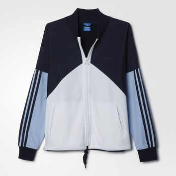 adidas Helsinki Authentic Superstar Jacket - Blue | adidas US