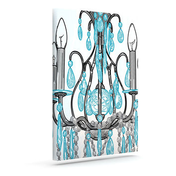 "Sam Posnick ""Chandelier"" Outdoor Canvas Wall Art"