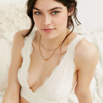 Out From Under Valentina Lace Bralette - Urban Outfitters
