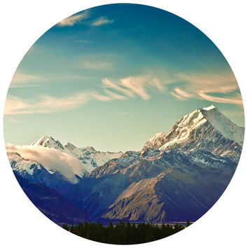 Rocky Mountain High Circle Wall Decal