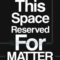 This Space Reserved For Matter, Quote Print, Science Teacher Gift, Classroom Decor, Funny Science Art print, Astronomy Art, Wall Decor,