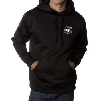 Mark Signature Hoodie Black