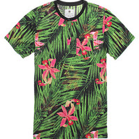 On The Byas Mite Tropics Short Sleeve Henley T-Shirt at PacSun.com