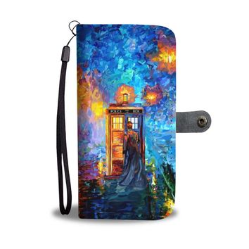 KUYOU Doctor Who In A Strange Town Wallet Phone Case
