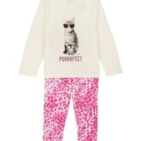 Baby 2Pc Cheetah Print Legging Set by Juicy Couture