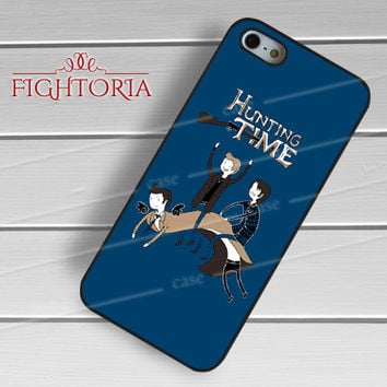 Supernatural Hunting Time -rdh for iPhone 4/4S/5/5S/5C/6/6+,samsung S3/S4/S5/S6 Regular/S6 Edge,samsung note 3/4