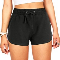 Women's Juniors Perfect Jogger Gym Shorts