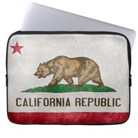 California State Flag Laptop Sleeve