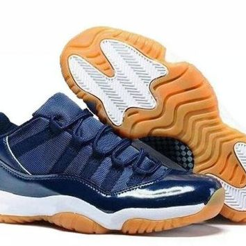 NIKE AIR JORDAN 11 Unisex Low Basketball Shoes