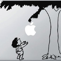 High Quality - Giving Apple Tree - Vinyl Laptop or Macbook Decal