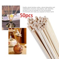 Oil Diffuser Replacement Rattan Reed Sticks 50 pcs